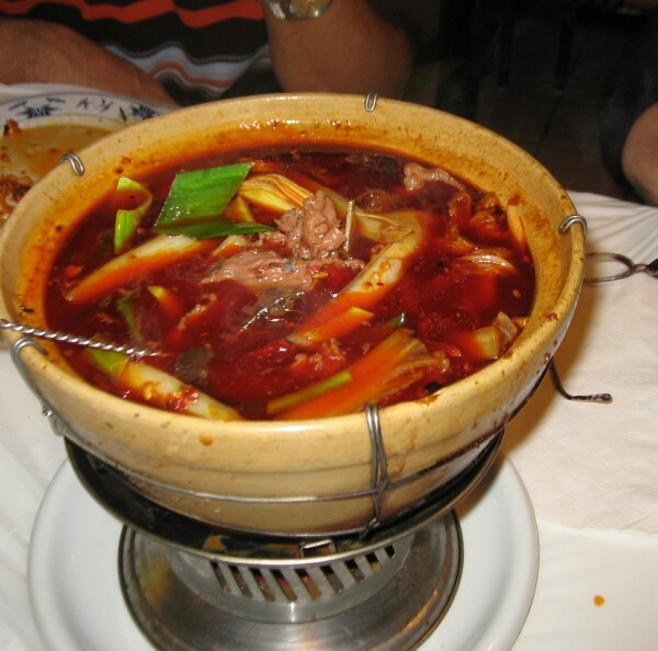 lamb cumin hotpot at double li, img by gwiv